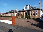 Tighnaligh Holiday Villa. Largs, West Coast of Scotland