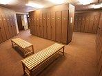 Beautiful ski locker area to store your equipment