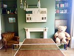Have a game of ping pong in our games room! Make sure to keep score on our vintage scoreboard.