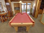 Enjoy a game of pool while at the springs.