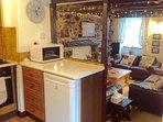 Kitchen/diner through to lounge