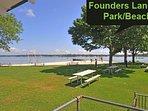 Founders Landing Beach