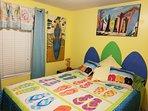 2nd bedroom, queen bed sleeps 2