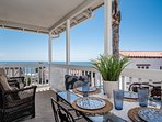You can even enjoy dining with an ocean view!