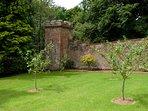 Melmerby Hall gardens and the Castle Folly
