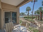 433 Captains Walk-Oceanfront, walk right from your patio to the pool & ocean.