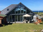 Contemporary property with stunning sea views.