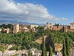 Alhambra,Granada, Andalucía,Sierra Nevada, Gastronomía, teatro,Ave, Aeropuerto,40mlnplayas,Ríos,Pant