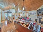 Escape to Branson West at this vacation rental cabin in the StoneBridge Resort!