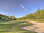 The StoneBridge Resort has a world-class golf course.