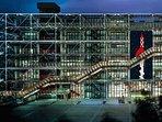 Pompidou Center by night