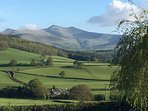 Stunning view of Pen y Fan from the cottage