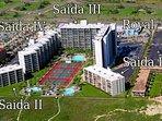 Saida Towers on beautiful South Padre Island