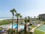 Saida has two beachfront swimming pools.