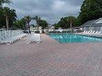 Upper Pool and sunbathing deck