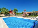 Beautiful villa with private swimming pool, terrace, and sauna