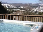 Hot Tub, Winter View