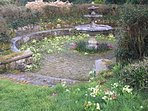 fountain in the main garden