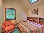 Enjoy wooded views from almost every room!