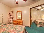Each room includes ample closet space!