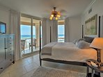 Each bedroom features access to the private terrace.
