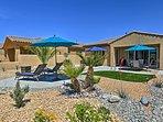 This desert villa is simply breathtaking.
