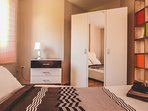 Wardrobe and Nightstand for Complete Comfort