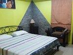 bedroom 1 king size bed ground floor