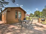 NEW! Toledo Bend Cabin w/Deck & Private Hot Tub!