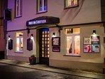 Eingang Wein-Café & Zeitreise-Museum
