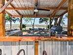 Admire the waterfront views as you cook up a feast for your group!