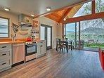 Modern appliances and sleek decor will blow you away.
