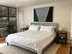 Master Bedroom on the Main Level (King size bed).