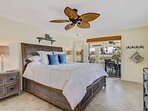 In the split floor plan, the master suite is on the opposite side of the home from the guest rooms, and has a stunning...