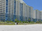 Long Beach Resort 1206 is located on 1,300 feet of shimmering sands and wavy waters