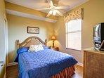 Third bedroom features queen bed.