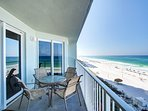 Just look at the views from your low floor balcony!