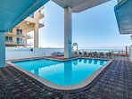 Marisol is a very small community - almost no one to share our large gulf-front pool!