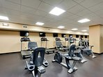 On site Fitness Center for those who enjoy a great work out!