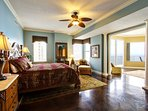 Our master suite is enormous!!