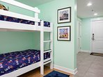 Need some extra sleeping spots? No problem, the hall bunks are a great spot for the kids