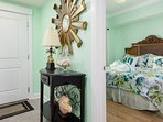 Guests will appreciate the big comfy King Bed in the guest bedroom