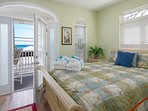 French Patio Door, Transom windows and flat screen TV make this the perfect vacation oasis