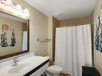 Guest Bath #2 offers a tub shower combination and large vanity spaces