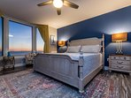 The Amazing Master Suite is Gulf Front with stunning views of the the World's Most Beautiful Beaches!