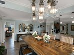 Formal dining area opens this home up for grand entertaining opportunities