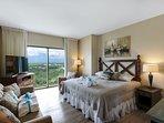 Guest Bedroom #1 also offers a Queen sofa sleeper