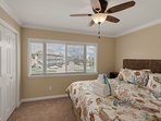 The Guest Bedroom offers great closet spaces and plenty of natural Florida sunshine to wake you up in the morning