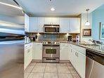 Open & Inviting Kitchen With Stainless Appliances