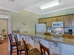 HUGE, spacious kitchen with granite counter tops, upgraded appliances and everything you need to create culinary...